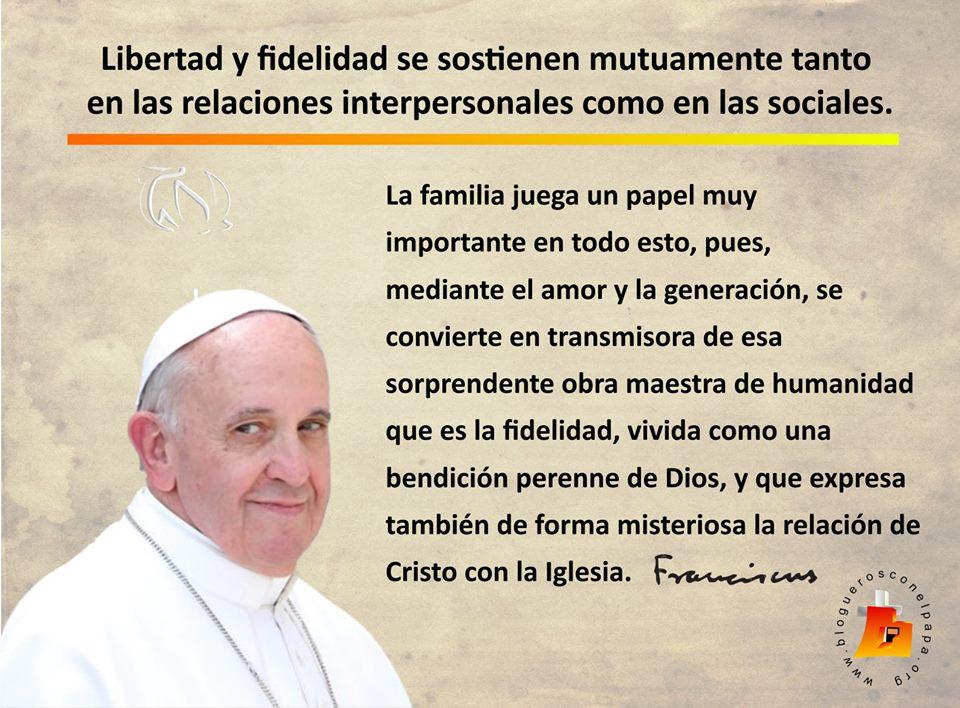 El blog de juanlu la familia seg n el papa francisco for Que es menaje