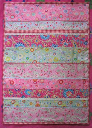 Cobertor Patchwork 0.80x1.00 aprox.