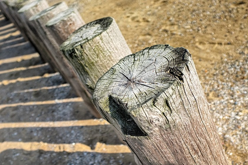 Beach posts