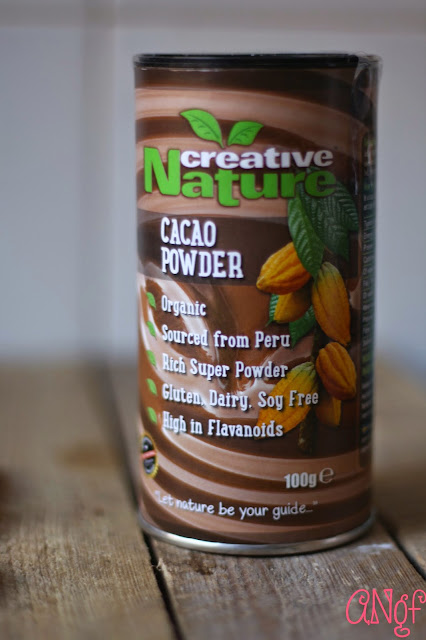 Creative Nature's Cacao Powder from Anyonita-nibbles.co.uk