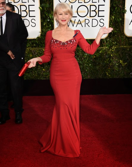 Helen-Mirren-Golden-globes-2015-red-carpet