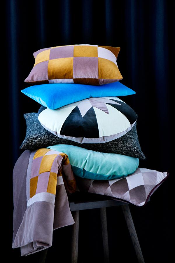 amalie loves denmark design neues aus d nemark edle kissen von christina lundsteen. Black Bedroom Furniture Sets. Home Design Ideas