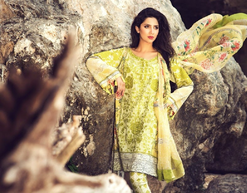 ELANLawnSpring SummerCollection2014 wwwfashionhuntworldblogspotcom 03 - Elan Lawn Spring Collection 2014 By Khadijah Shah