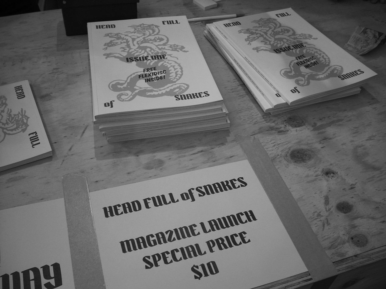 Head Full of Snakes Magazine