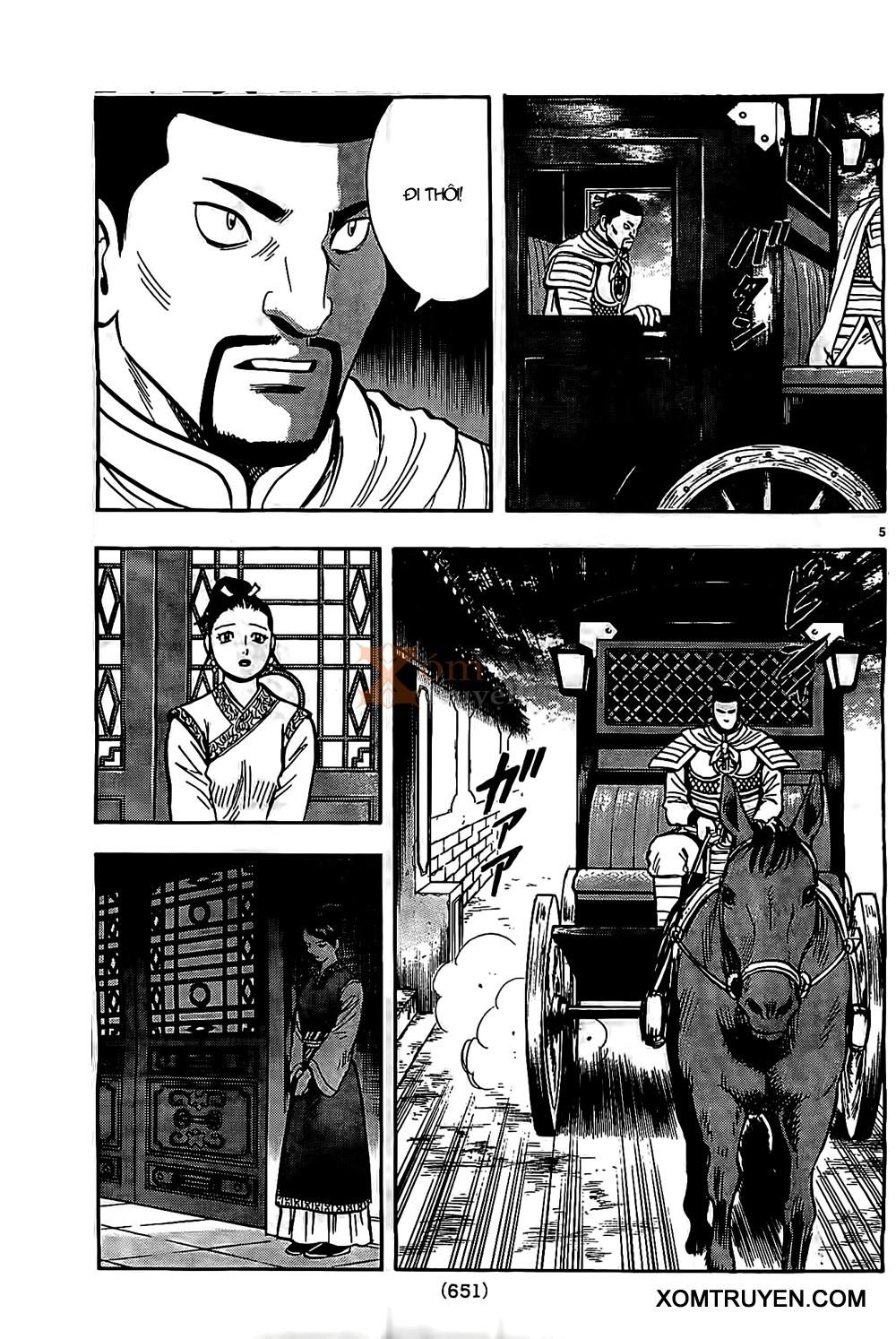 Hoàng Phi Hồng Phần 4 chap 91 Trang 5