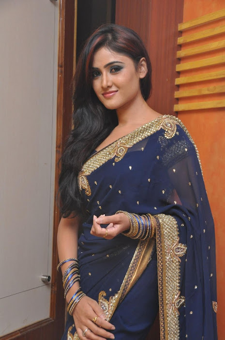 sony charista in saree latest photos