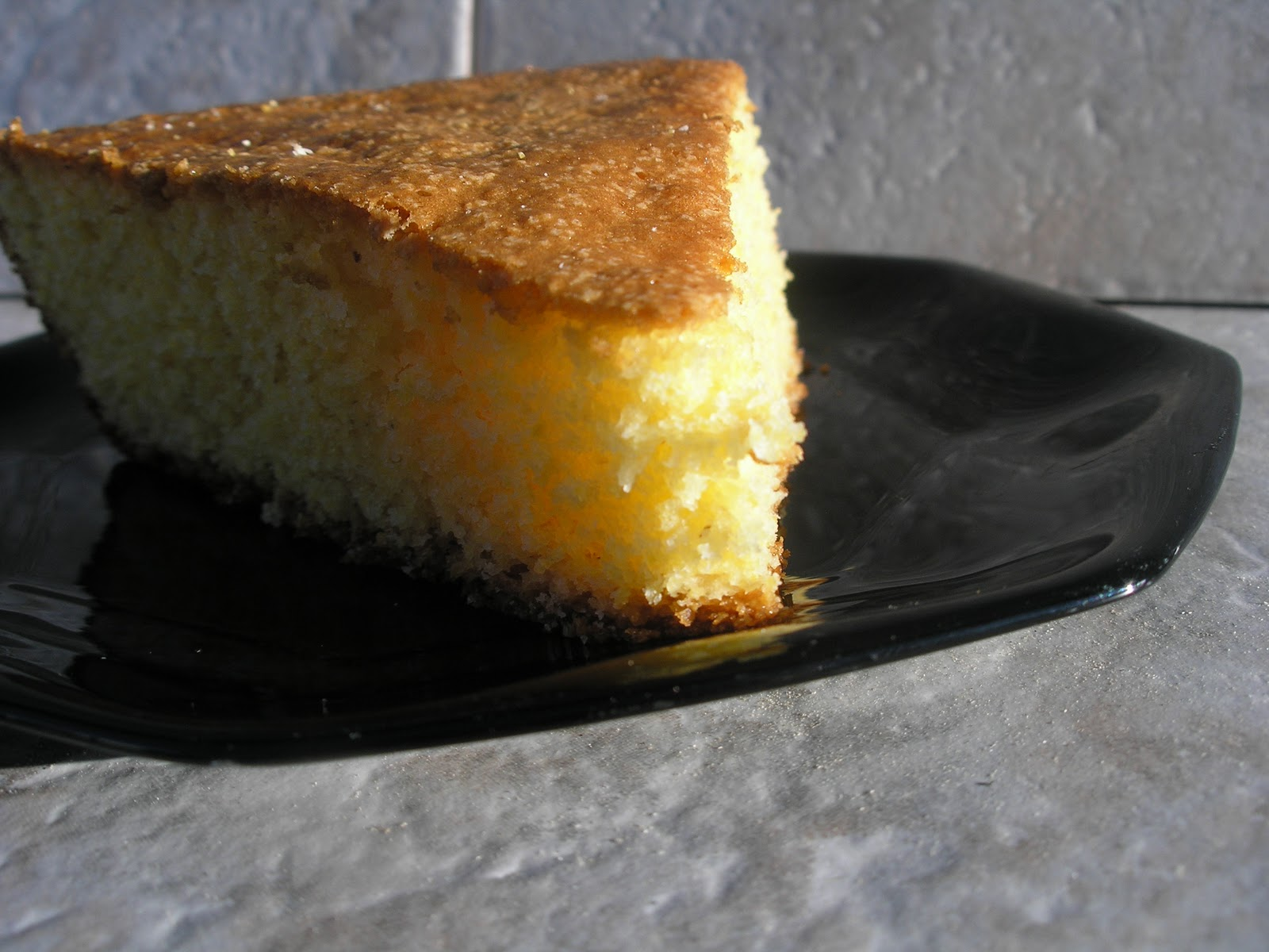 My Catholic Kitchen » Cast Iron Skillet Cornbread and YBR