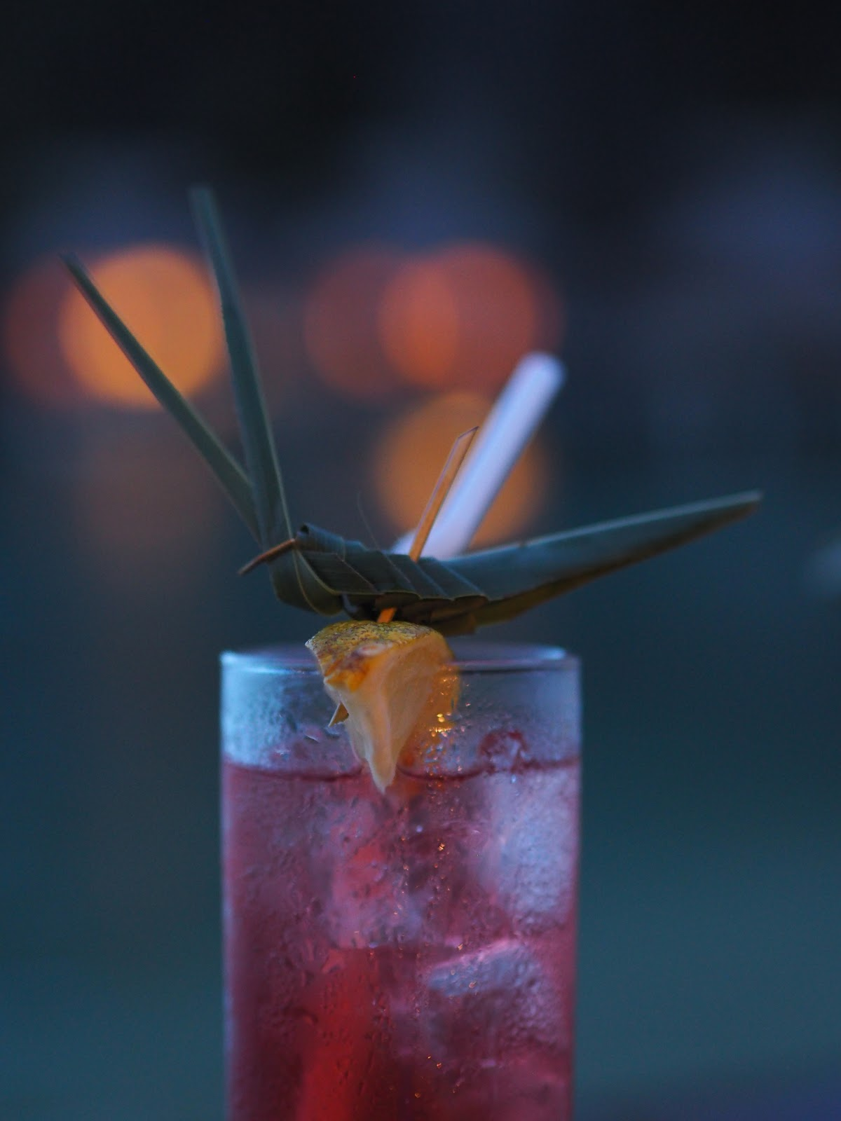 Cocktail at night time