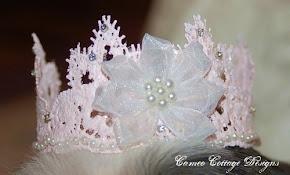 Pretty Lace Crown for Prini