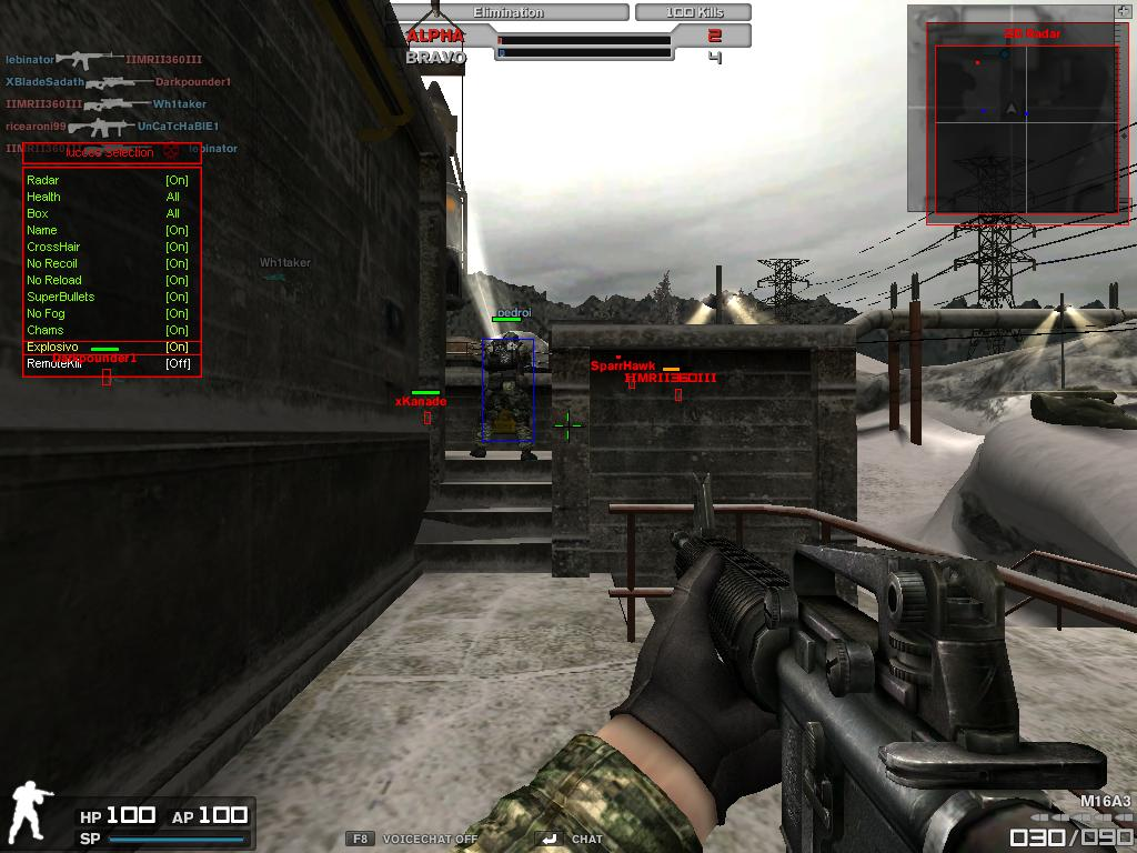 Combat Arms Hile luccss Selection Menl Oyun Botu indir
