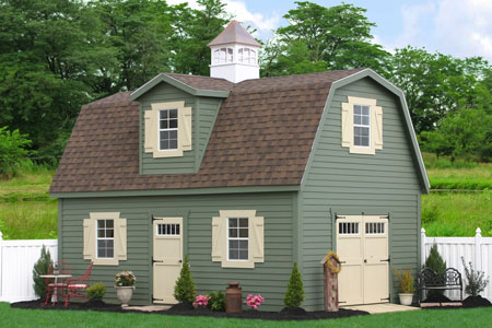 Spring portable sheds sale for Garage with apartment for sale