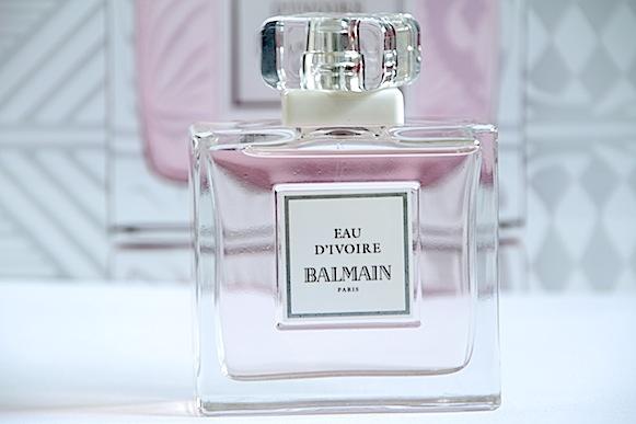 balmain eau d'ivoire parfum été 2013 avis