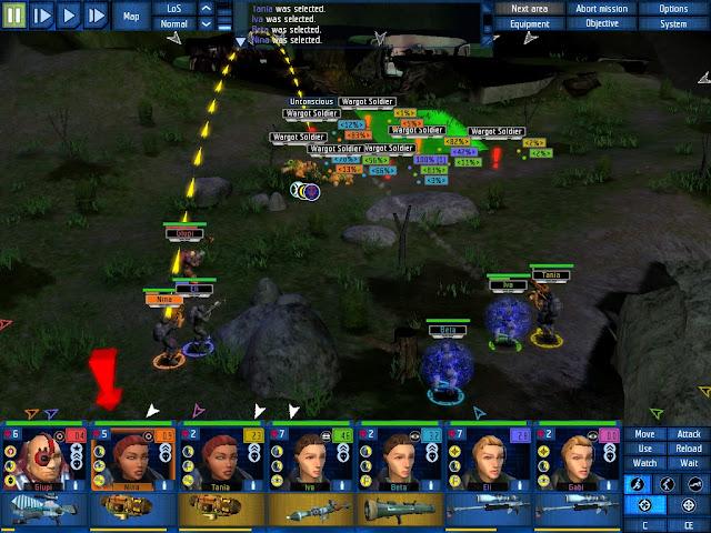 UFO: Aftershock - Grenade Thrower Screenshot