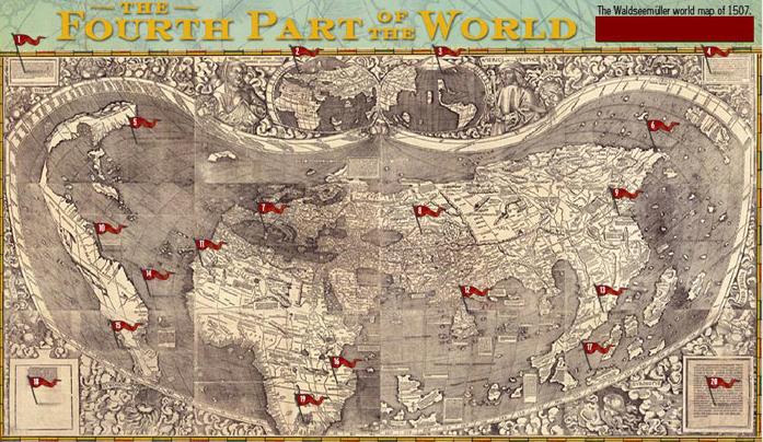 Us history teachers blog the first map of america the first map of america gumiabroncs Image collections
