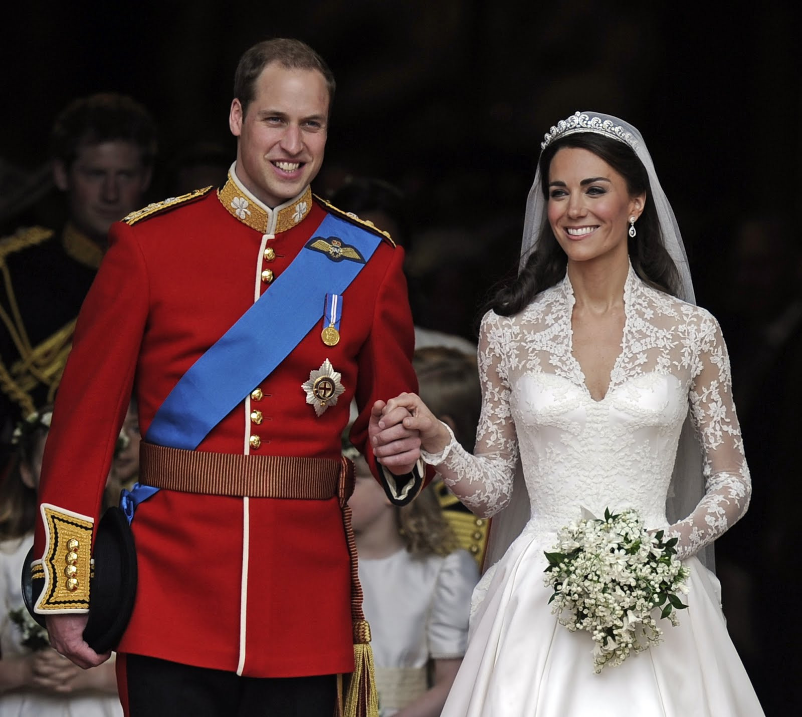 Свадьба принца уильяма и кейт миддлтон 8 фотография