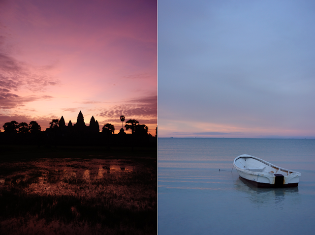 Cambodia, Angkor Wat, Koh Rong Samloen, Angkor Wat Sunrise