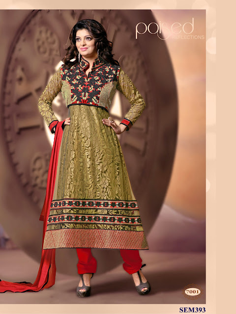 Online Shopping For Stylish Brasso Long Anarkali Suit