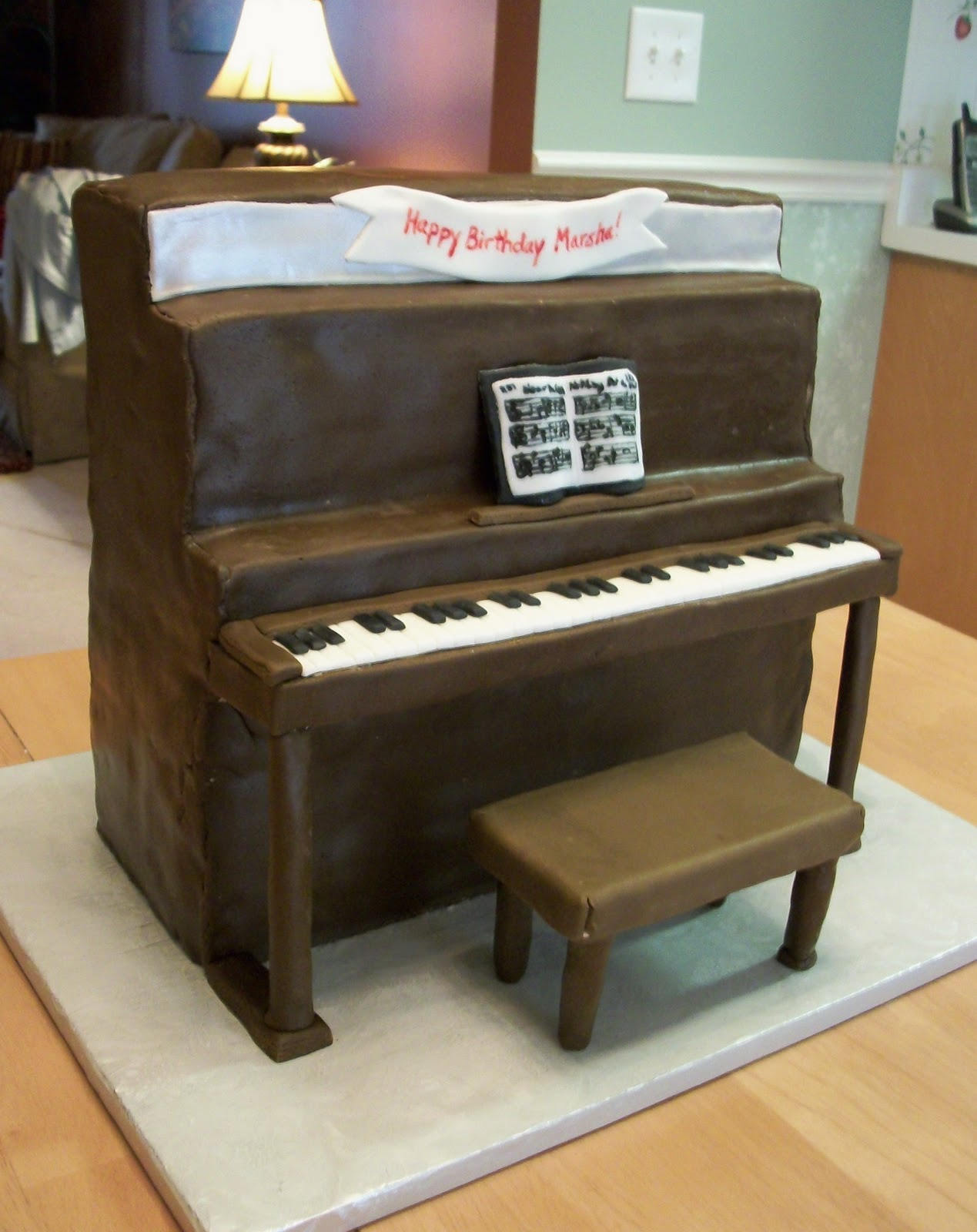 "Bellissimo! Specialty Cakes: ""Piano Cake"" - 3/11"