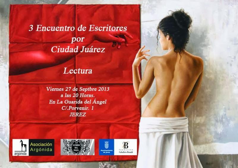 III Encuentro de Escritores por Ciudad Juárez