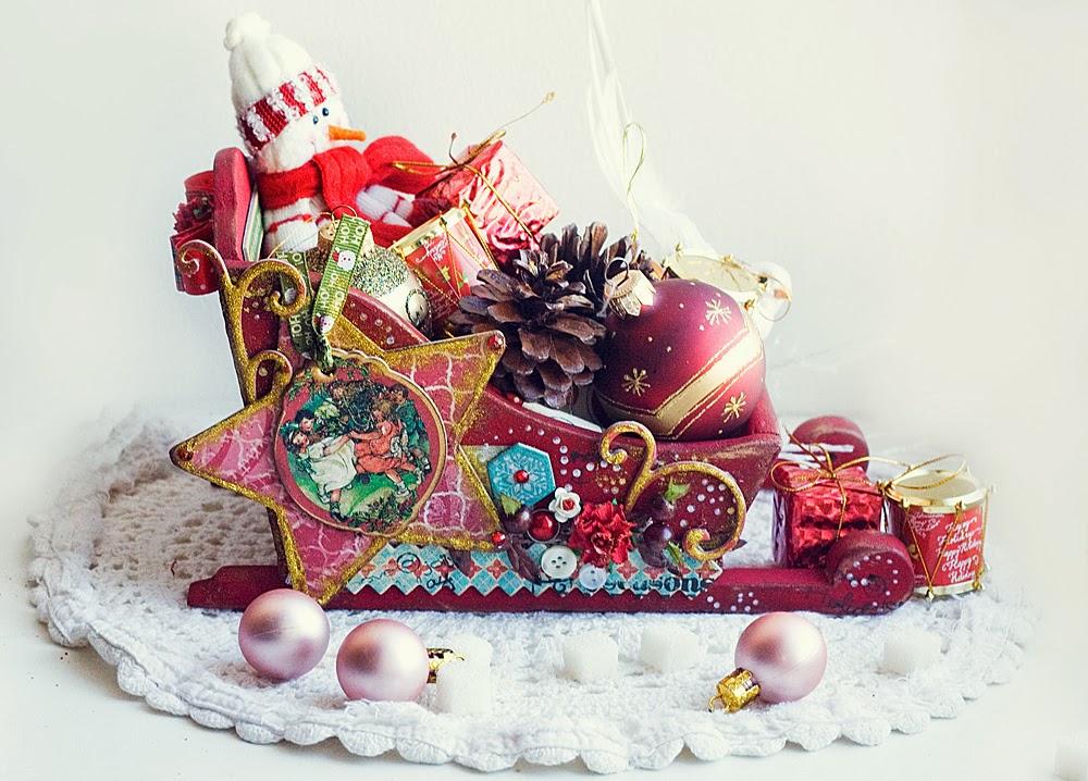 Новогодние подарки сани 67