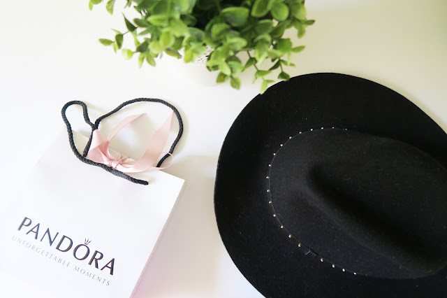 6- 20th Birthday Haul Blog Post- Pandora and Hat