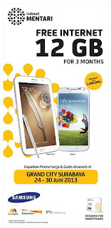 Promo Samsung Galaxy di Grand City Surabaya