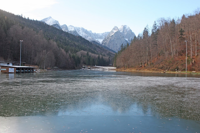 Dezember 2015 am Riessersee in Garmisch-Partenkirchen