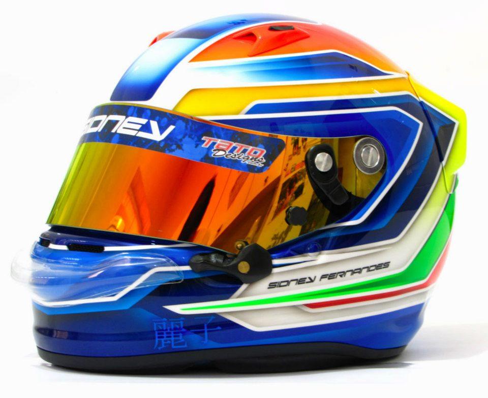 Racing Helmet Garage >> Racing Helmets Garage: Arai GP-6 S.Fernandes 2012 by Tato Designs