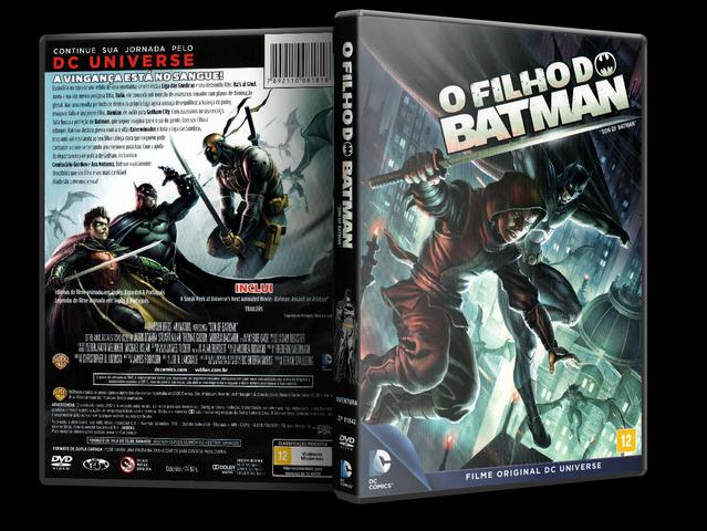 Capa DVD O Filho Do Batman