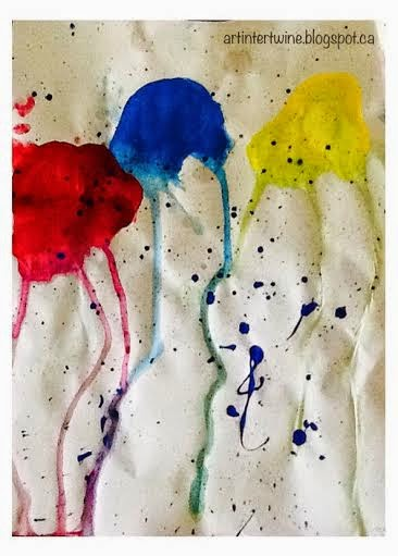 Art Activity For Kids - Jellyfish