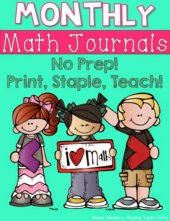 https://www.teacherspayteachers.com/Product/Monthly-Math-Journals-BUNDLE-2nd-Grade-1586478