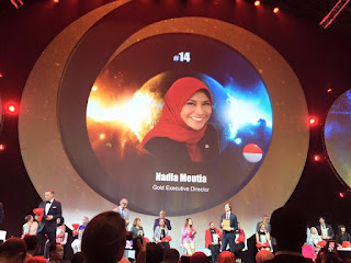 Global Top 15 Oriflame #14 Indonesia Nadia Meutia (Gold Executive Director)