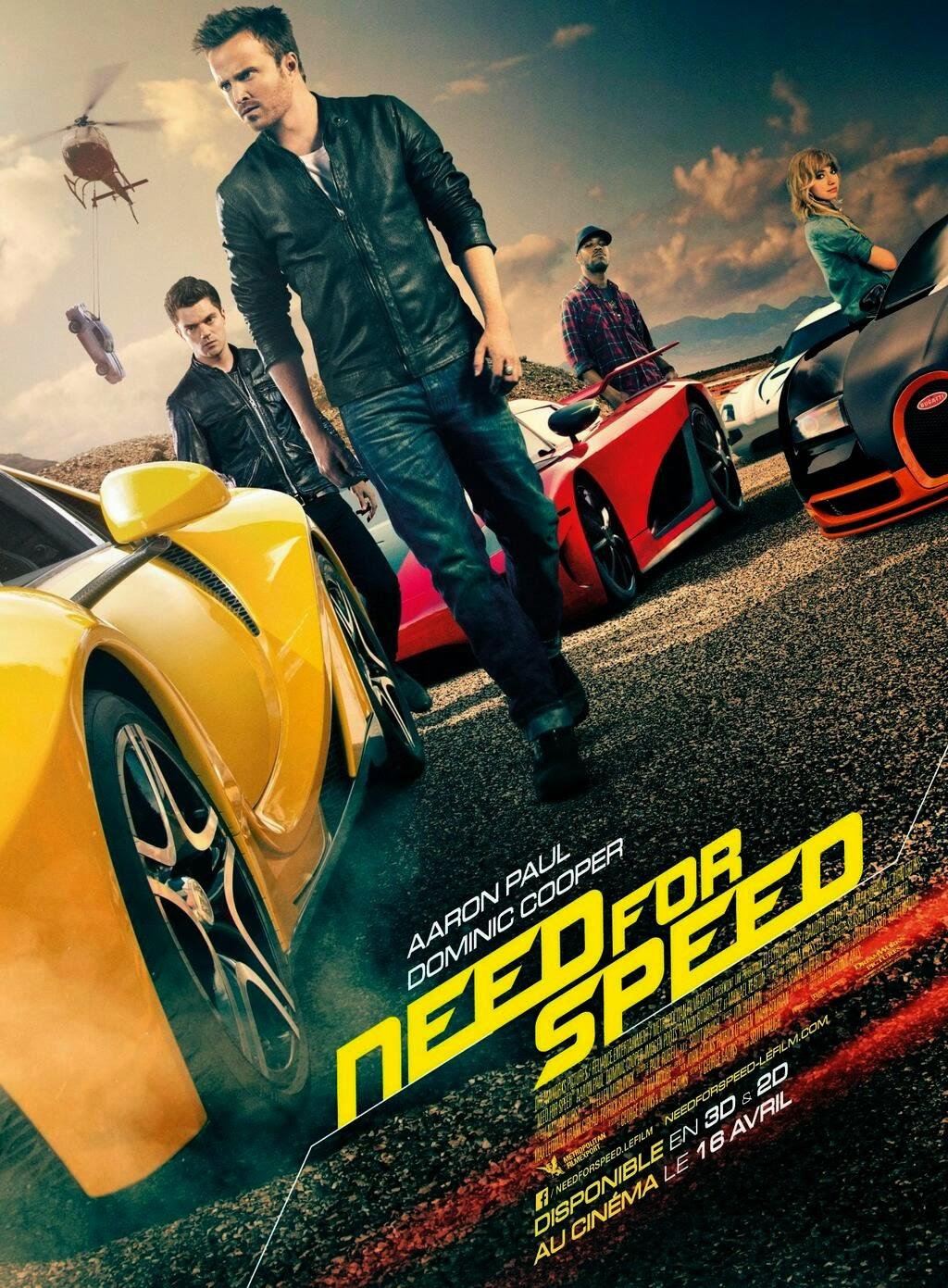 Đam Mê Tốc Độ - Need For Speed (2014) Poster
