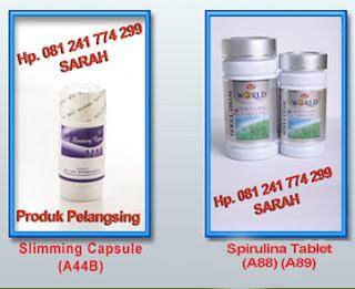 OBAT PELANGSNG Slimming Capsule Dan Spirulina Tablet