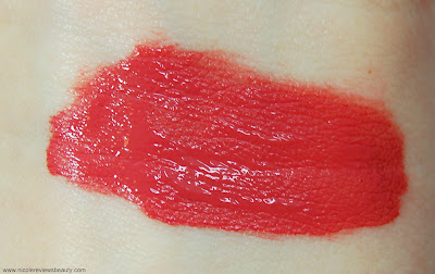 Hourglass Opaque Rouge Liquid Lipstick in Rose Swatch