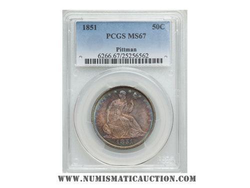 1851 Half Dollar