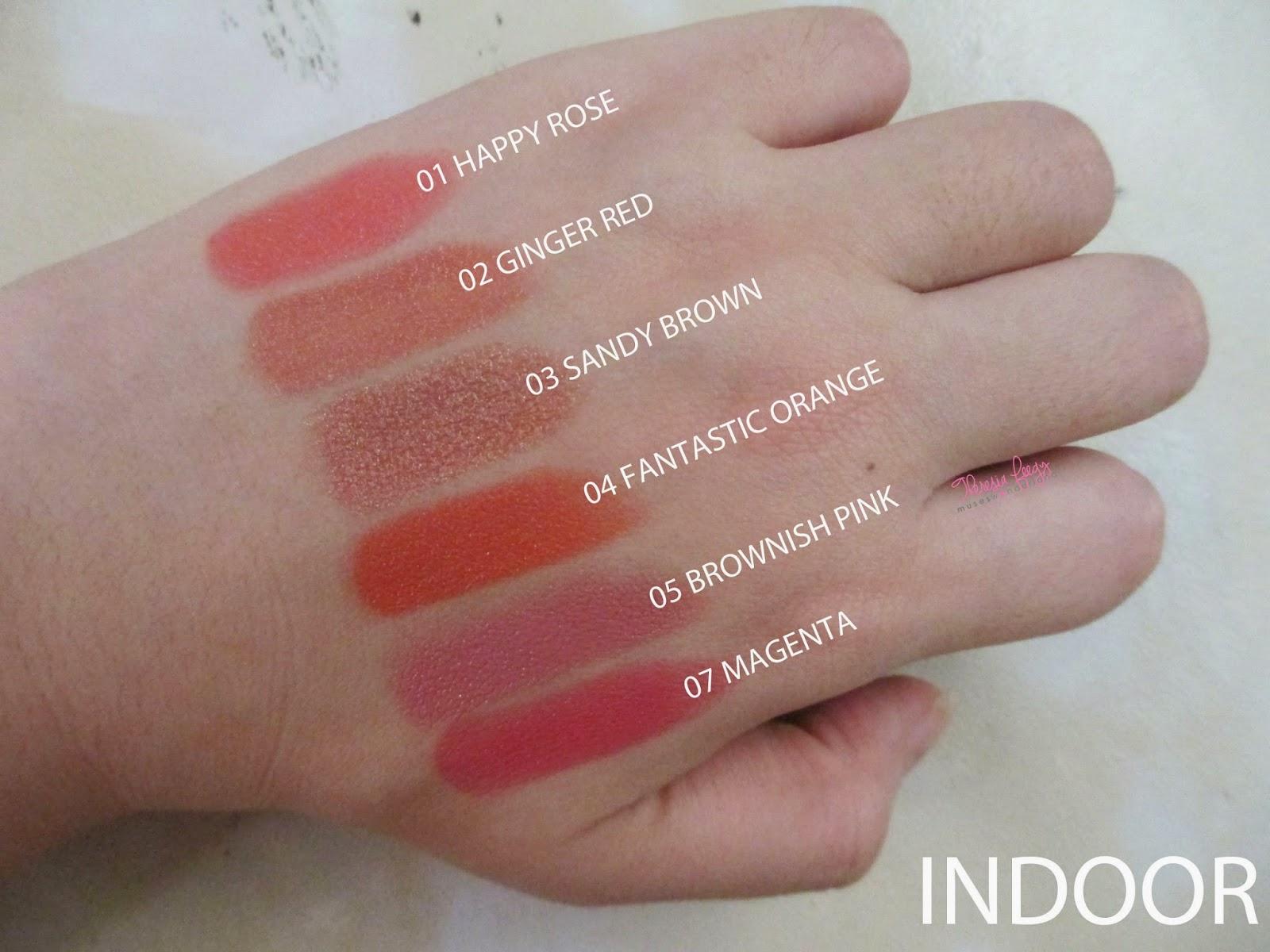 lipstick terbaru dari lt pro bernama glossy lipstick. review dan swatches warna dari koleksi lt pro glossy lipstick. di coba oleh salah satu top blogger di indonesia. moisturizing, melembabkan, pigmentasi tinggi, high pigmentation dan long lasting, tahan lama. pilihan semua makeup artist professional di indonesia