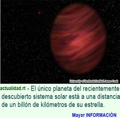 Hallan el sistema solar más grande del universo