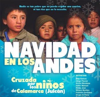 """Cruzada navideña por los niños de Calamarca: """"Navidad en los Andes 2011"""""""