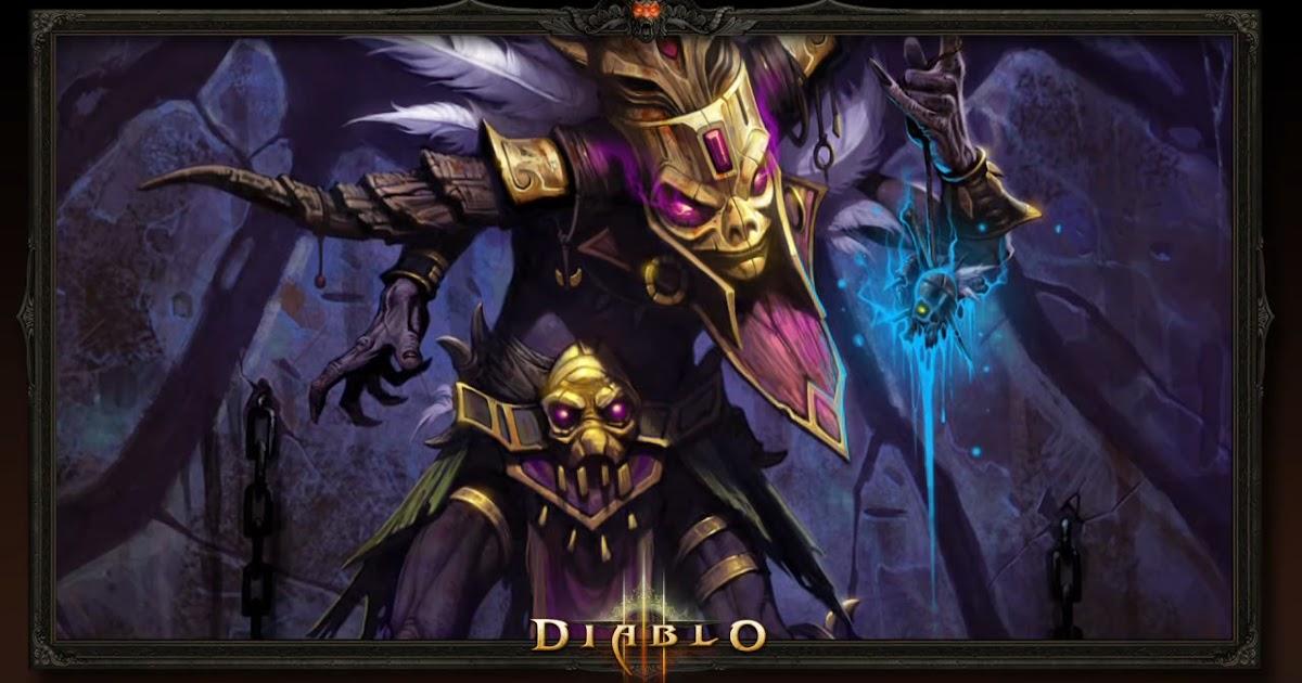 Diablo  Witch Doctor Haunt Build