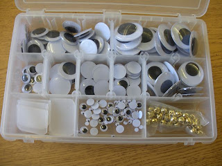 organize your googly eyes