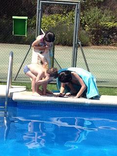 vacaciones, verano, bichos, niños, hijos, hermannos