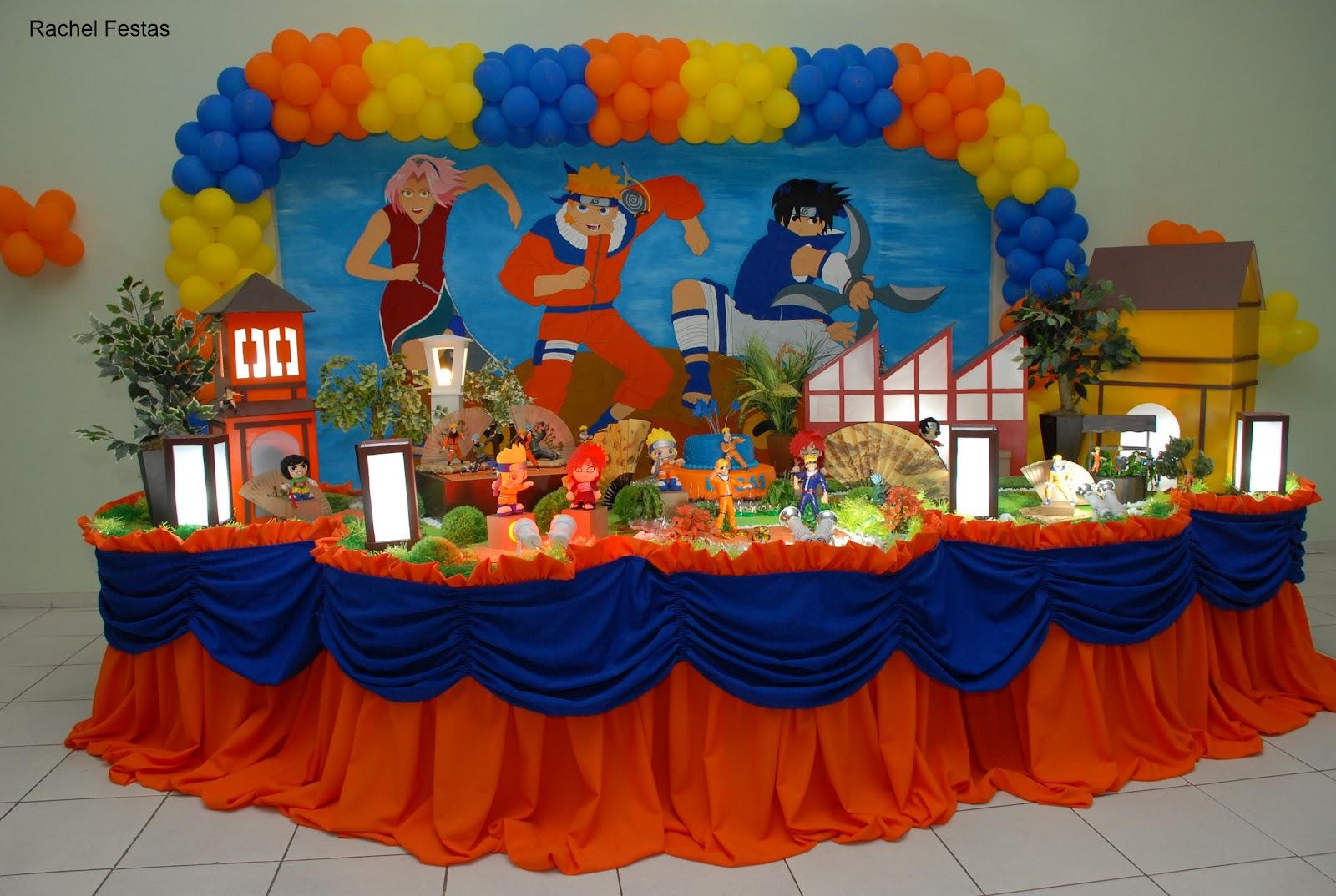 decoracao festa naruto:Rachel Festas Infantis em Campos dos Goytacazes: Festa do Naruto