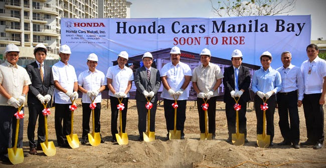Honda Manila Bay Ground Breaking