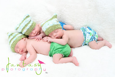 Winston Salem Newborn Photographer | Twins Triplets Multiples | Fantasy Photography