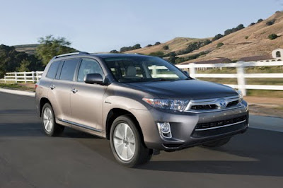 2011 Toyota Highlander in grey color