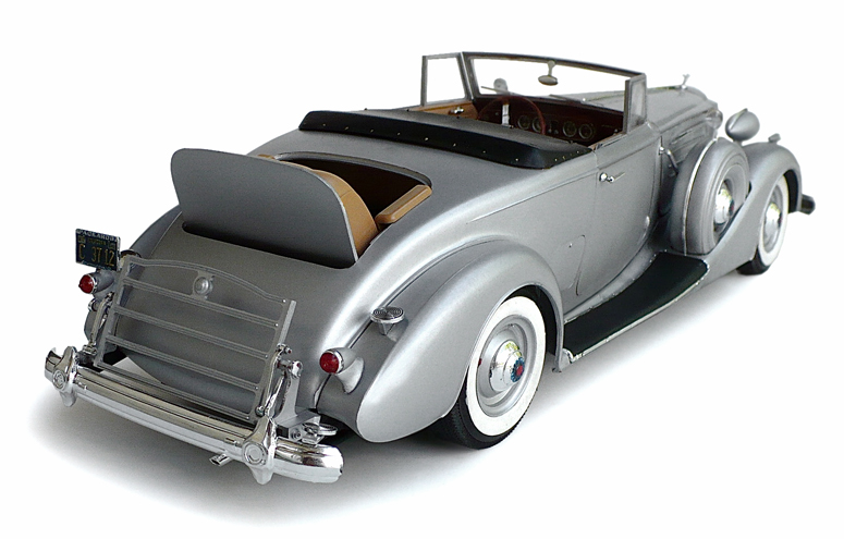 The great canadian model builders web page 1937 packard for 1937 packard 3 window coupe