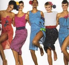modelos de vestidos anos 80