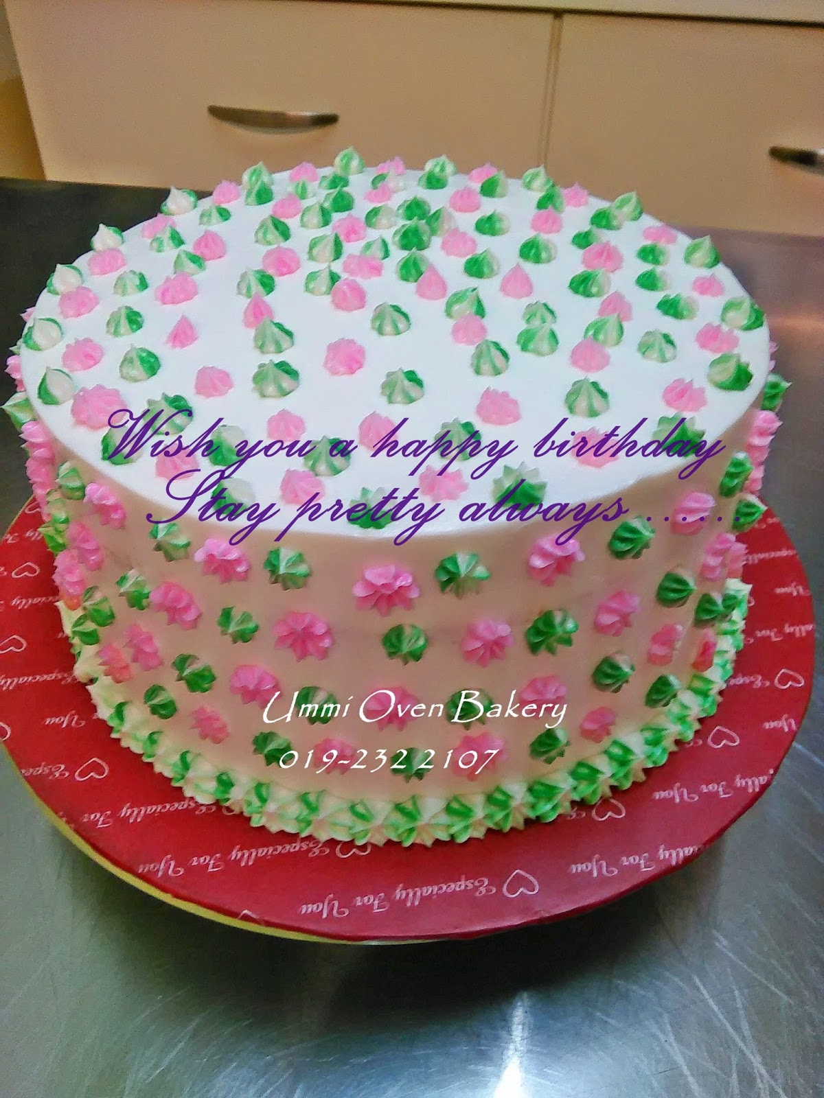 Birthday Cake Images And Msg : Cakekasih Ummi: BIRTHDAY CAKE