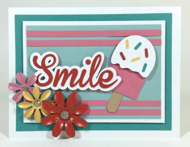 Cricut Smile Card